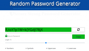 strong-Password-Generator