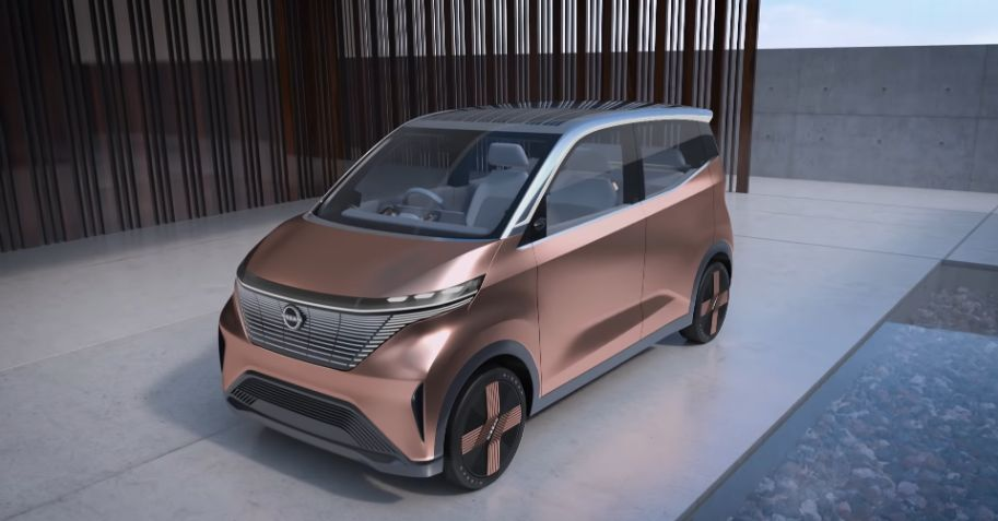 Nissan Introduced A New Electric Car - Nissan IMk